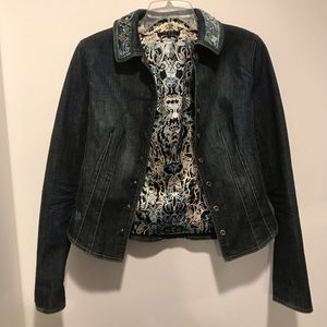 Elie Tahari denim jacket